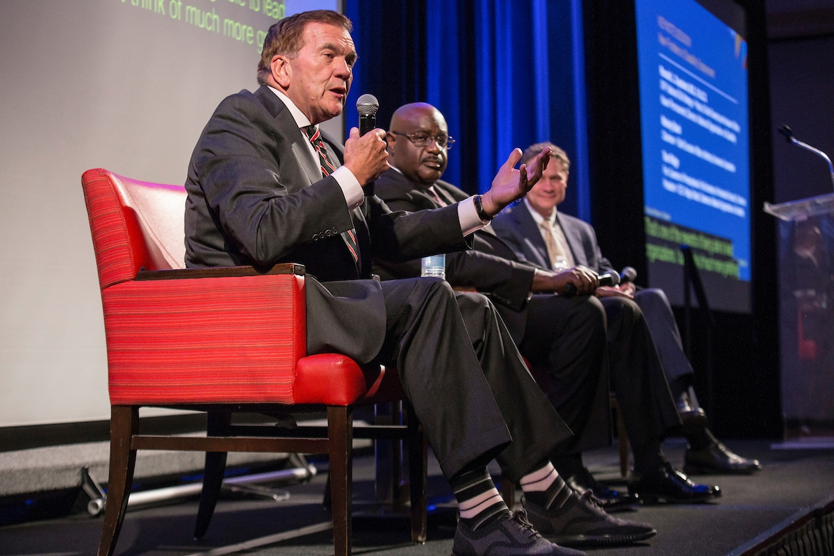 Keynote Session | New Frontiers in Disability Employment: Wesley Bush, Northrop Grumman; Gov. Tom Ridge and Dr. Ronald L. Copeland, Kaiser Permanente