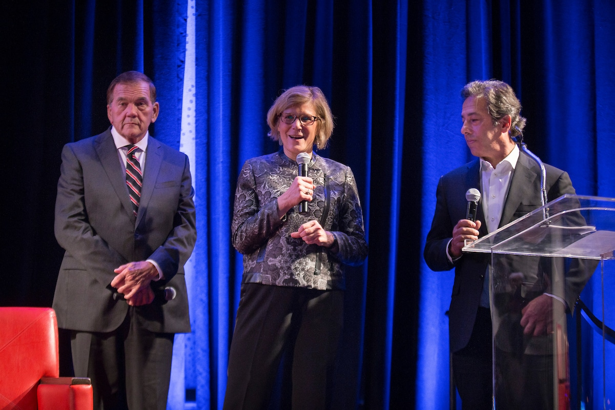 Announcing the 2018 Leading Disability Employers: Gov. Tom Ridge, DiversityInc's CEO Luke Visconti and NOD's' Carol Glazer introduce this year's winners