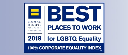 Human Rights Campaign Best Places to Work for LGBTQ Equality logo
