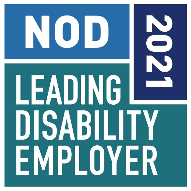 2021 Leading Disability Employer Seal