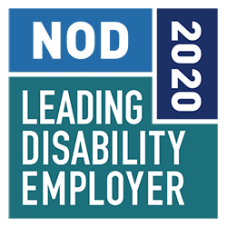NOD 2020 Leading Disability Employer Seal