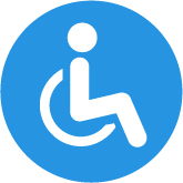 Icon of a handicapped symbol