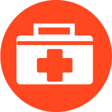 Icon of a medical kit
