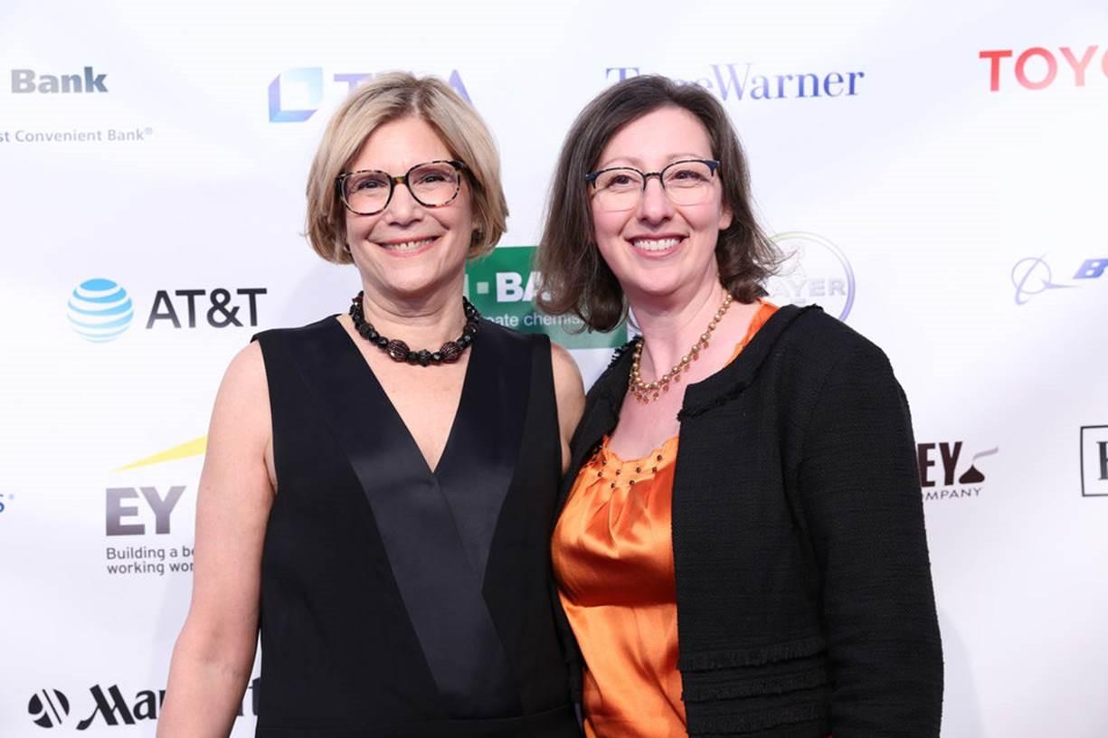 NOD President Carol Glazer with COO Sue Meirs