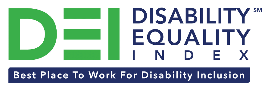 Disability Equality Index Top Places to Work for Disabilities logo