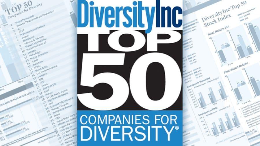 Diversityinc Top 50 logo