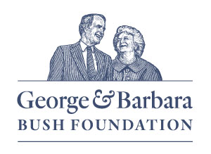 George & Barbara Bush Foundation logo