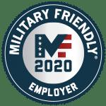 2020 Military Friendly Employer logo