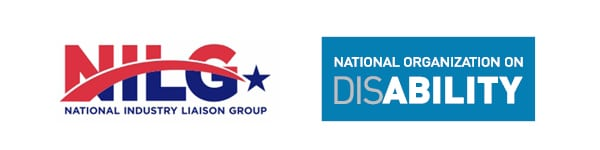NILG and NOD logos side by side.