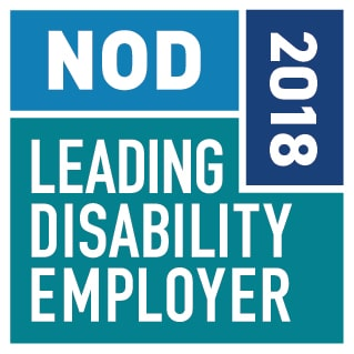 2018 Leading Disability Employer Seal