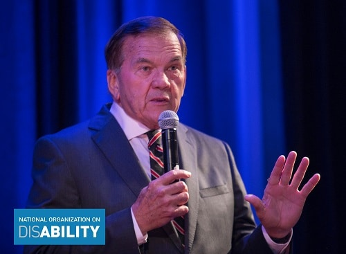 Tom Ridge speaks at the 2018 NOD September Forum