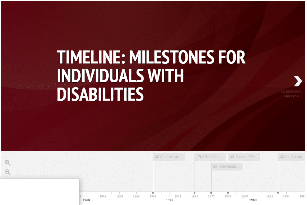 Thumbnail image of interactive timeline