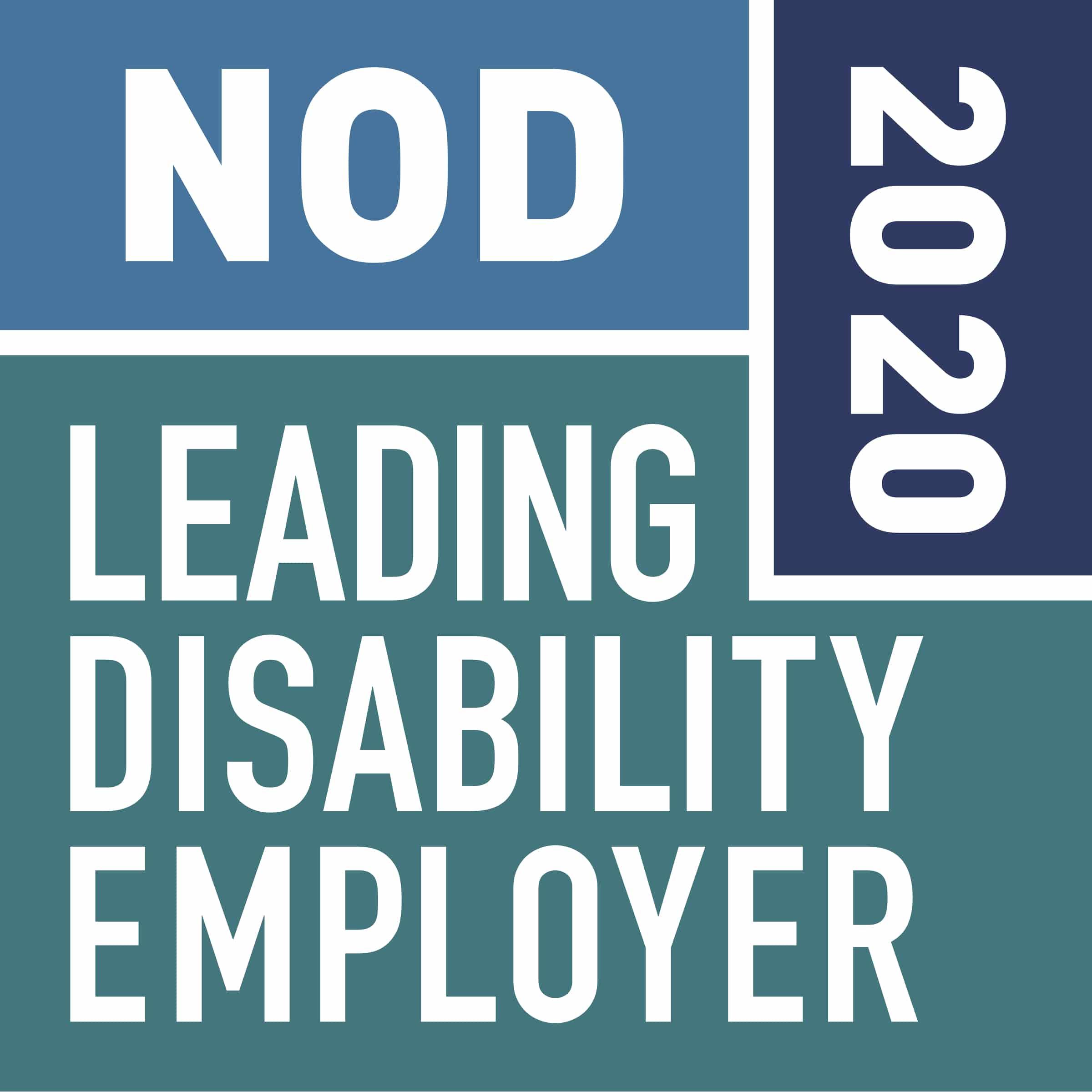 Leading Disability Employer seal logo