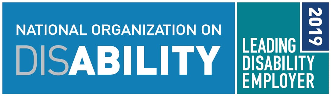 2019 Leading Disability Employer Seal
