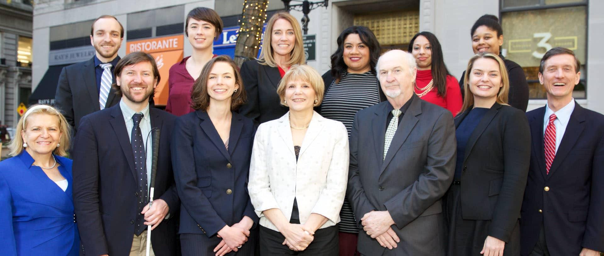 Group photo of NOD staff members
