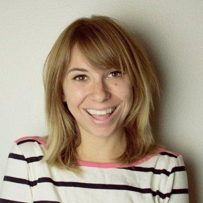 Headshot of Brittany Schoen on beige background
