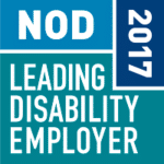 National Organiztion on Disability Leading Disability Employer Seal