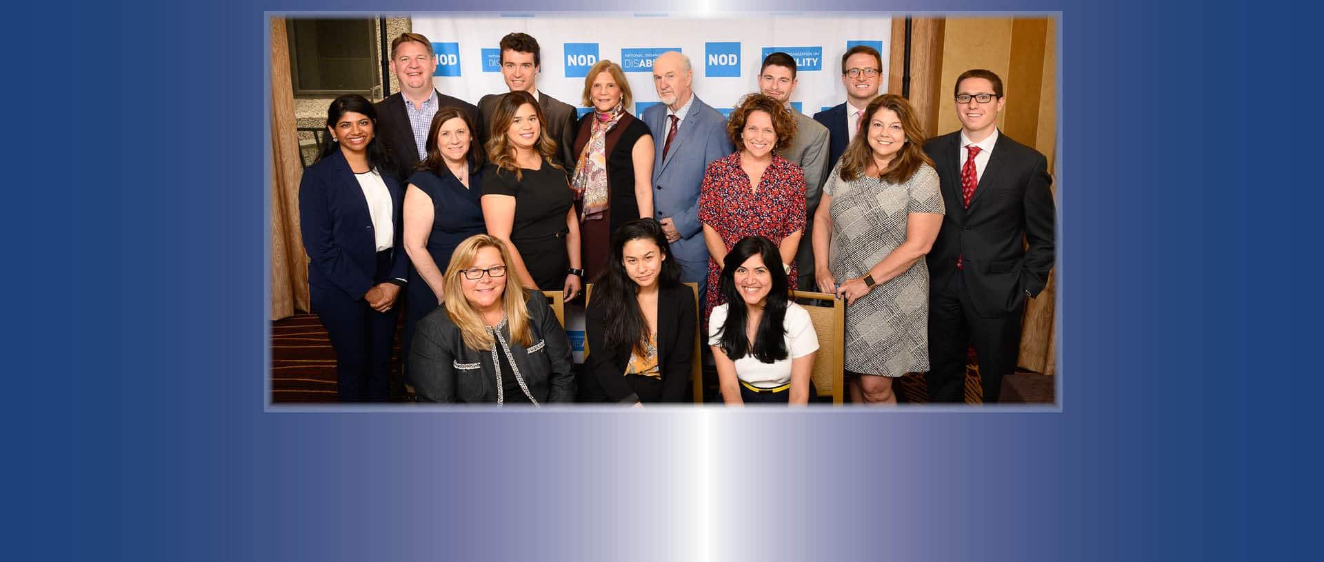 Group photo of NOD staff
